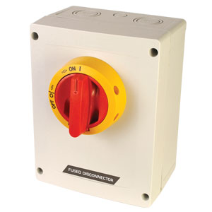 Fused Disconnect Switch, 30A, 600 Vac, manual motor controller | KKVM Series Across-the-line Motor Disconnect Switch