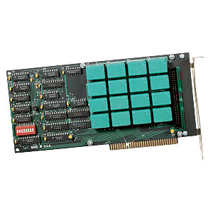 16 Channel Relay BoardFor IBM PC and Compatibles | CIO-RELAY16