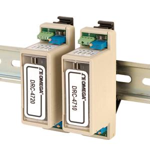 Condicionadores de Sinal com Entrada de Ponte para Montagem em Trilho DIN | DRC-4710/4720