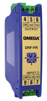 Condicionadores de Sinal com Entrada de FrequênciaMontagem em Trilho DIN | Série DRF