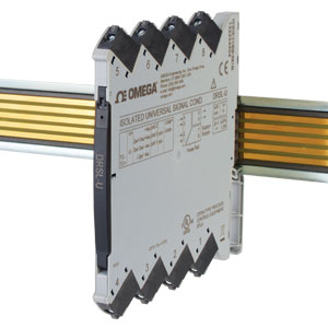 Isolated DIN Rail Signal Conditioner with Universal Input | DRSL-U