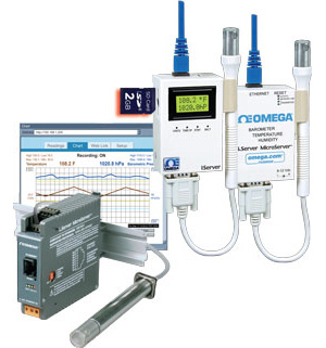 Registrador Virtual de Pressão Barométrica, Temperatura e Umidade | Série iBTX