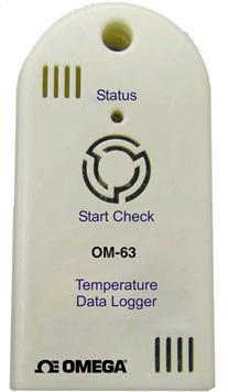Registrador de Dados de Temperatura Portátil de Custo Acessível Parte da Família NOMAD | OM-63