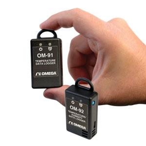 Registradores de Dados Portáteis de Temperatura e UmidadeParte da Família NOMAD® | Série OM-90
