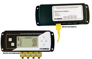 Registradores de Dados de Temperatura com 8 CanaisParte da Família NOMAD® | OM-CP-OCTTEMP-A