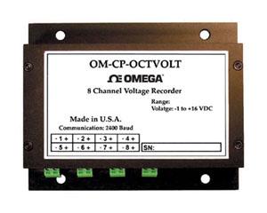 8 Channel Voltage Data Logger   OM-CP-OCTVOLT