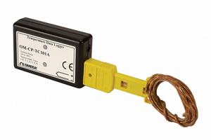 Registrador de Dados para Termopares e Temperatura Ambiente | OM-CP-TC101A