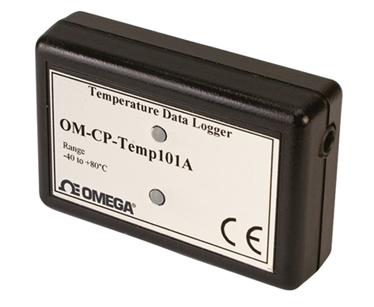 Registrador de Dados de Temperatura Parte Integrante da Família NOMAD® | OM-CP-TEMP101A