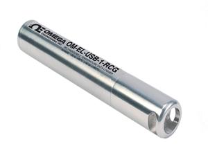 Registrador de Dados de Temperatura Recarregável com Interface USB | OM-EL-USB-1-RCG