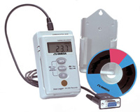 Portable Temperature Datalogger with Backlit LCD Display  Part of the NOMAD Family | OM-NOMAD-340-KIT