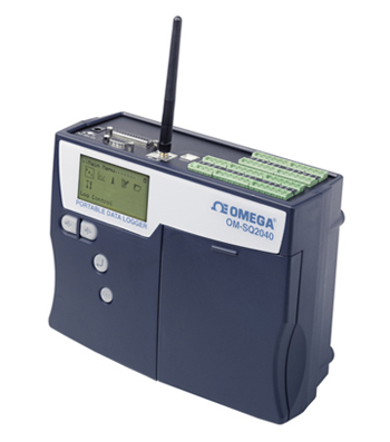 Portable Data Logger with 16 or 32 Universal Inputs Plus 2 High Voltages, 4 Pulse and 8 DigitalEvent/State Inputs | OM-SQ2040-2F16