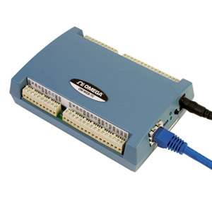 Eight Channel Web-Enabled Thermocouple Input Module | OM-WEB-TC