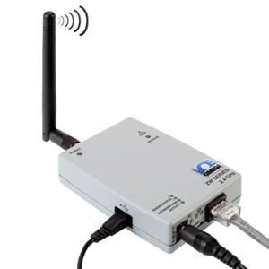 Receptor Sem Fio de Alta Potência - Ethernet ou Conexão com a Internet | ZW-REC