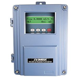 Medidor de Vazão Ultrassônico para montagem fixa | FDT-25W