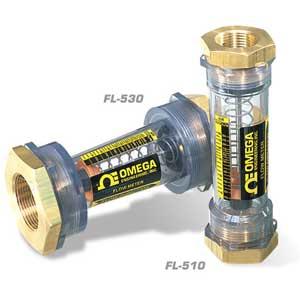 Medidores de Vazão em Linha para Água e Ar | Série FL-500