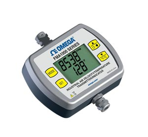 Indicador/Transmissor Industrial de Temperatura/Velocidade do Ar para Aplicações Gerais | Série FMA1000