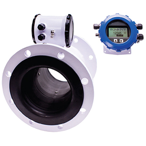 Medidor de Vazão Eletromagnético com Display Remoto, Flange, Saída Pulso e 4-20mA (opcional)   FMG490