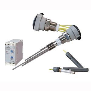 Sensores de Nível de Condutividade | Série LVCF/LVCR/LVCP