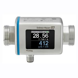 Medidor de Vazão Eletromagnético PICOMAG com Display Integrado, Bluetooth e 4-20mA | PICOMAG