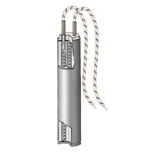Low Density Cartridge Heater, 304 SS Sheath 3/8