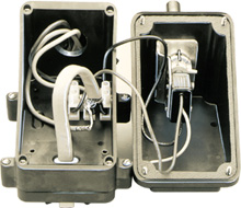 Air-Sensing Thermostats for Heating Cables   RTAS