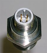 Pines de un conector de un sensor