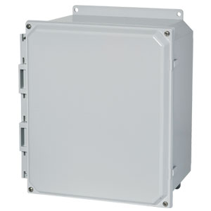 Non-metallic polycarbonate enclosures | AMP Series Electrical Junction Boxes