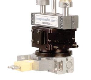 DRF Rotary Actuator - Pneumatic Modular Automation Components:Pneumatic Rotary Actuators -  Flange Mountable DRF Series