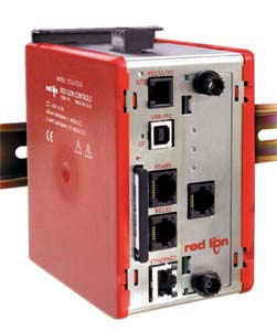 Data Station Plus, Multiple Protocol Converter, Communication Gateway  for PLC's, PC's and SCADA Systems. High-Speed Data Logging , Web Server and Virtual HMI. | G3 DSP Series Data Station Plus