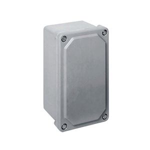 Nema 4X (IP66) Non-Metallic ElectricalJunction Boxes, Small Fiberglass Electrical Boxes for Wireless Transmitters   OM-AMJ Junction Boxes
