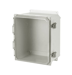 NEMA 3R and 4X Non-Metallic Fiberglass Electrical Outdoor Enclosures | OM-AMU Series Fiberglass Enclosures
