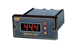 1/8 DIN Digital Potentiometer | OMDC-DP4 Digital Potentiometer