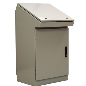 Operator Work Stations, DESK CONSOLES, NEMA 4 and 12 | SCE-DC Series Desk Consoles