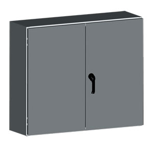 Two-Door  Electrical Cabinets | SCE-WFLP Series Two-Door Electrical Enclosures