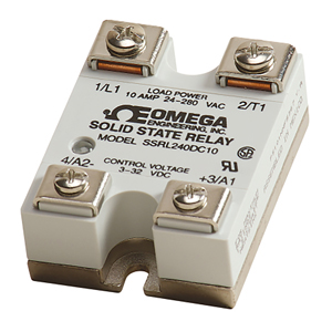 High Performance Solid State Relays SSR | Omega Engineering | SSRL240 and  SSRL660 Series