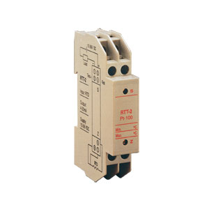 DIN Rail Mount Loop-Powered RTD Input Signal Conditioner | DRA-RTT-2