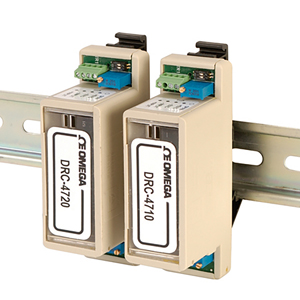DIN Rail Mount Bridge Input Signal Conditioners | DRC-4710 and DRC-4720