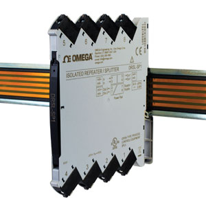 Isolated DIN Rail Repeater/Splitter for Current Signals | DRSL-SP1