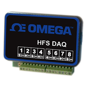 8 Differential Inputs Heat Flux Sensor Data Logger | HFS-DAQ-SERIES