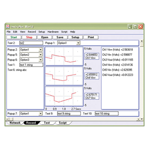 Data Acquisition and Control Software for use with instruNet Data Acquisition Systems | iNET-iWPLUS