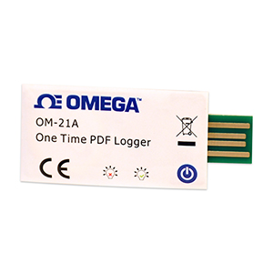 One Time Use USB Temperature Data Loggers | OM-21A Series