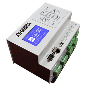 Ethernet Data Logger with Embedded Web Server | OM-240