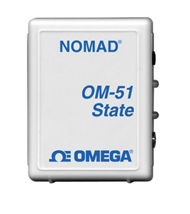 Portable Low Cost Data Loggers Part of the NOMAD®  FamilyState Logger, Motor On/Off Logger | OM-50 Series