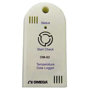 Portable Low Cost Temperature Data Logger | OM-63