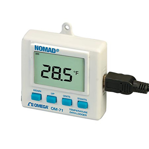 Portable Temperature and Humidity  Data Loggers with Display | OM-70 Series