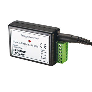Bridge/Strain Gage Data Logger Part of the NOMAD® Family | OM-CP-BRIDGE110-10