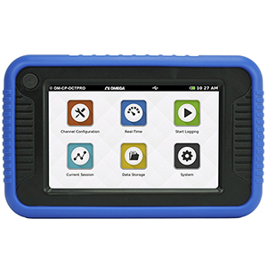 Data Logger | Multi Channel Digital Touch Screen Data Logger | OM-CP-OCTPRO
