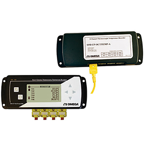 8 Channel Thermocouple  Data Loggers | OM-CP-OCTTEMP-A and OM-CP-OCTTEMP2000