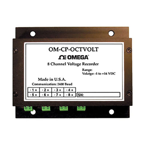8 Channel Voltage Data Logger | OM-CP-OCTVOLT