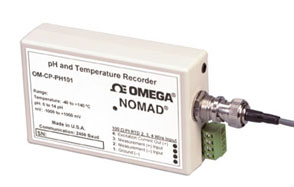 단종 - pH and Temperature Data Logger | OM-CP-PH101